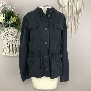 Anthologie Hei Hei small gray light jacket pockets
